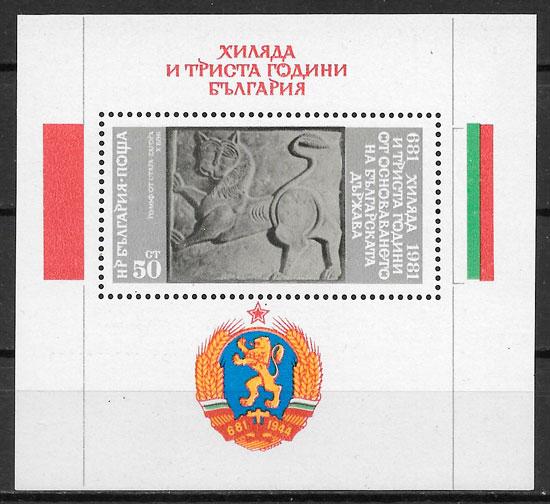 filatelia colección temas varios Bulgaria 1981