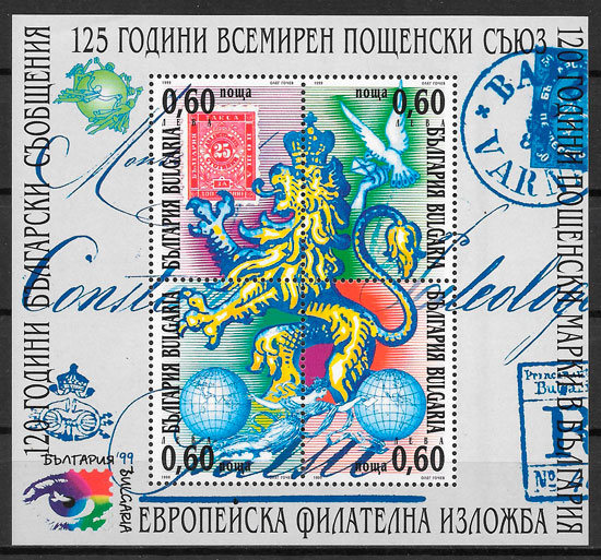 filatelia colección temas varios Bulgaria 1999