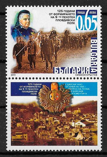 filatelia temas varios Bulgaria 2011