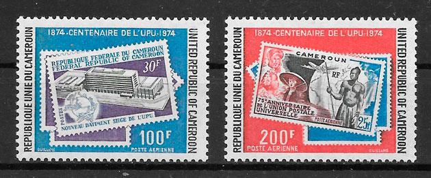 filatelia temas varios Camerún 1974