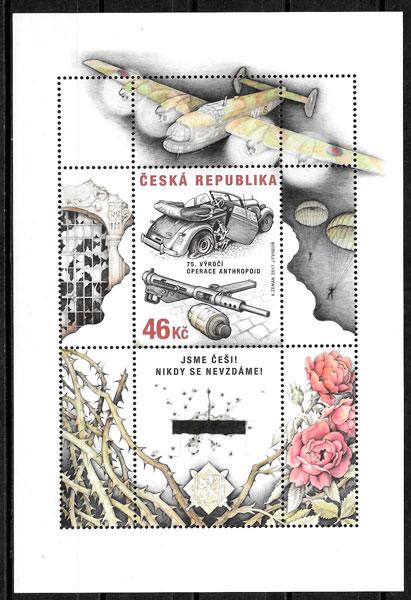 sellos temas varios Chequia 2017