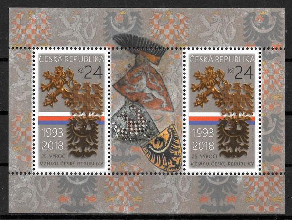 sellos temas varios Chequia 2018