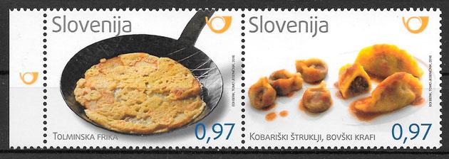 filatelia temas varios Eslovenia 2016
