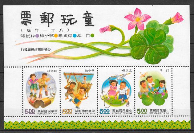 sellos temas varios Formosa 1992