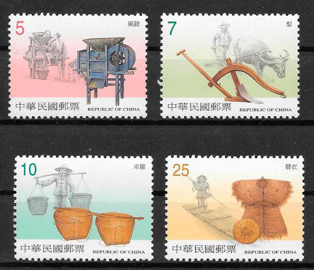 filatelia colección Formosa 2001
