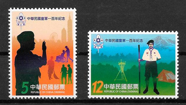 filatelia temas varios Formosa 2011