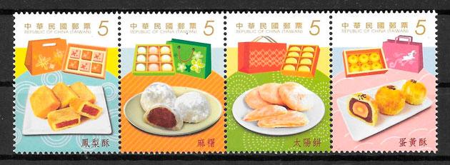 sellos temas varios Formosa 2014