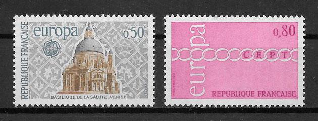 sellos Europa 1971