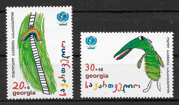sellos temas varios Georgia 1997