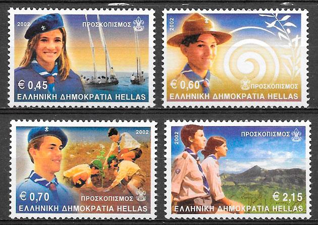 filatelia colección temas varios 2002