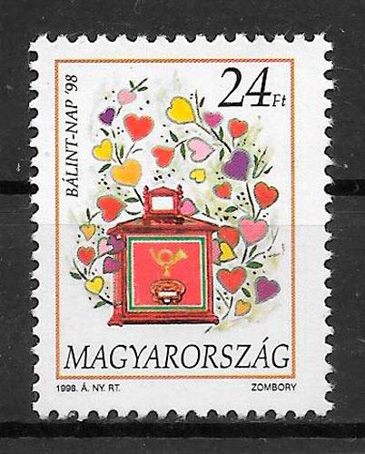 sellos temas varios Hungría 1998
