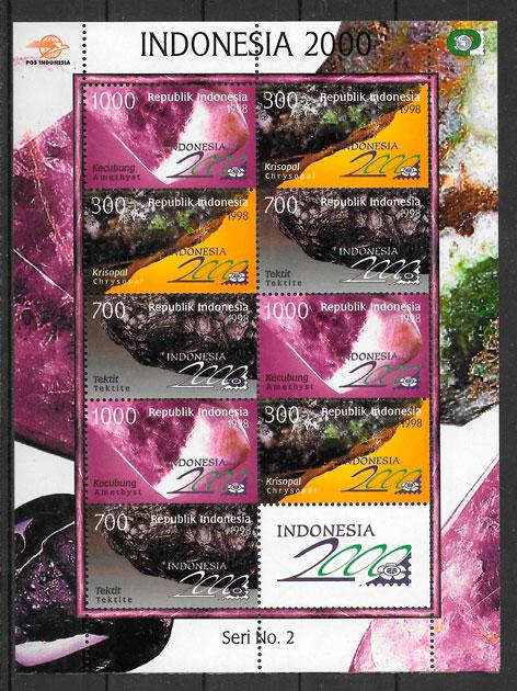 sellos temas varios Indonesia 1998