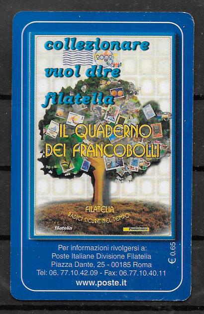 colección sellos temas varios Italia 2003
