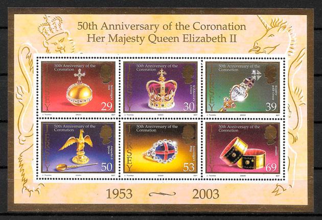 sellos temas varios Jersey 2003