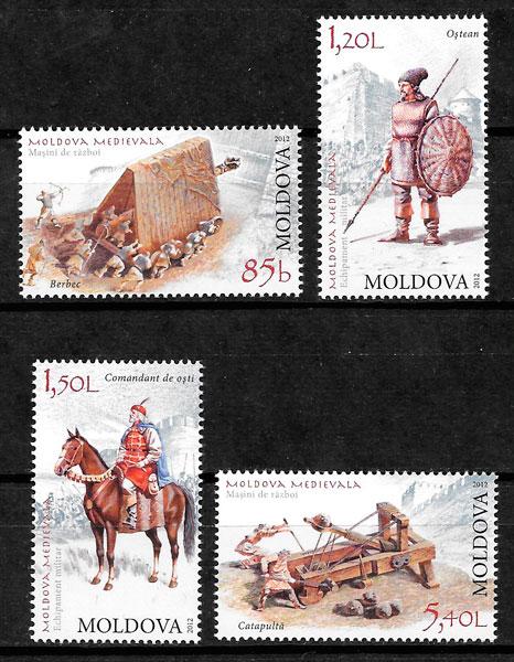 selos temas varios Moldavia 2012