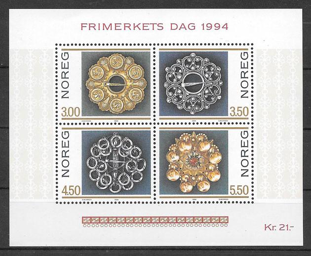 filatelia temas varios Noruega 1994