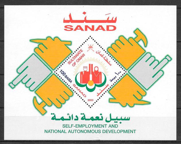 filatelia temas varios Oman 2003