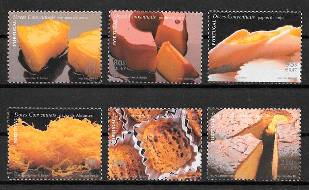 colección sellos temas varios Portugal
