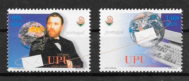 sellos temas varios Portugal 1999