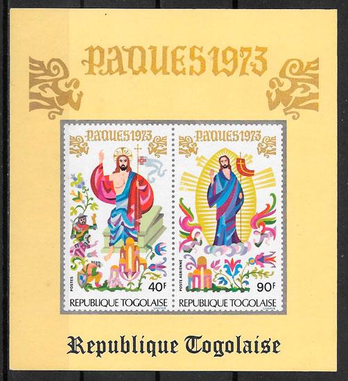 sellos temas varios Togo 1973