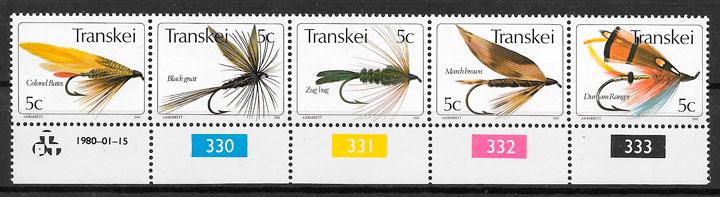 filatelia colección temas varios Transkei 1980
