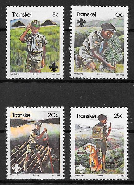 selos temas varios Transkei 1982