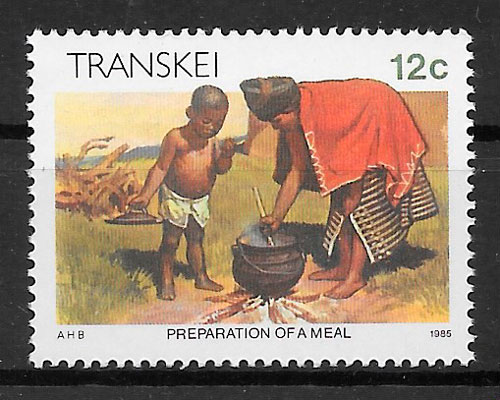 selos temas varios Transkei 1985