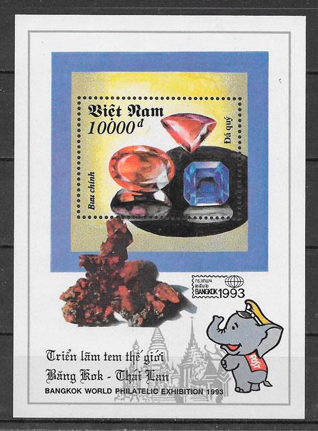 sellos temas varios Viet Nam 1993