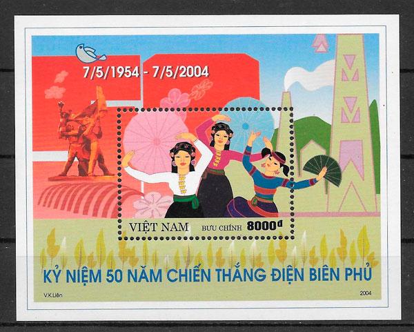 filatelia temas varios Viet Nam 2004