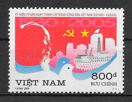 filatelia temas varios Viet Nam 2005