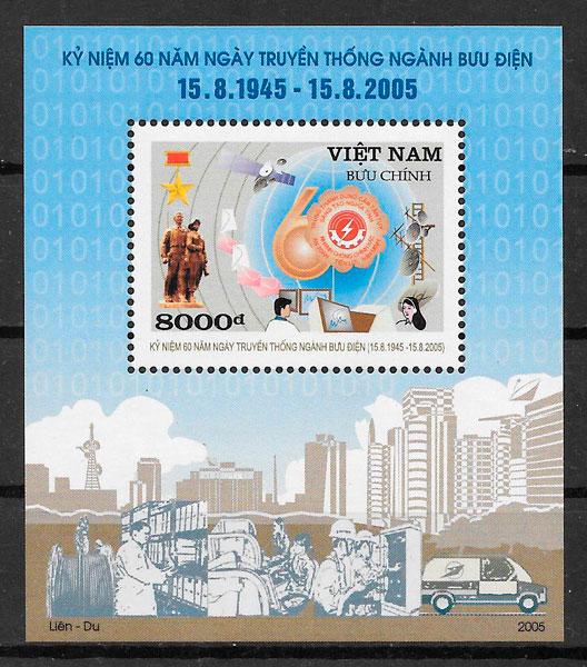 sellos temas varios Viet Nam 2005