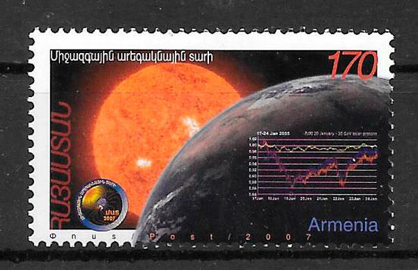 sellos espacio Armenia 2007