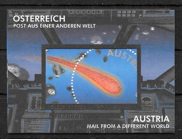 filatelia espacio Austria 2006