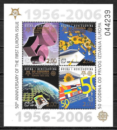 colección sellos Europa Bosnia Hercegovina