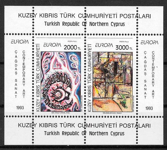 filatelia Europa Chipre Turco 1993