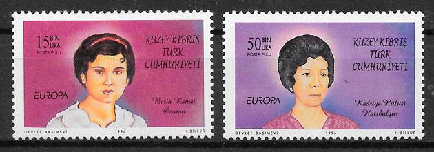 filatelia Europa Chipre Turco 1996