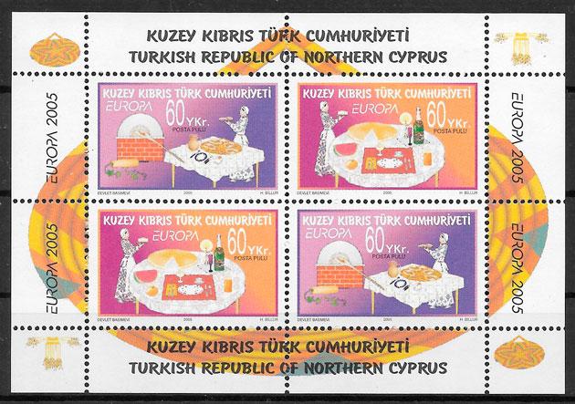 colección sello Europa Chipre Turco 2005