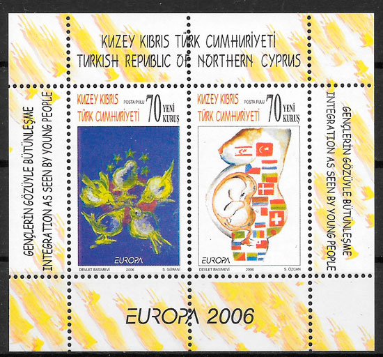 colección sello Europa Chipre Turco 2006
