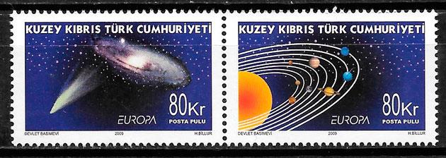 colección sellos Europa Chipre Turco 2009