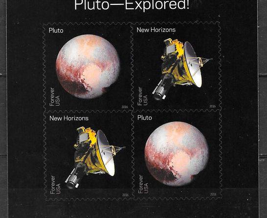 sellos espacio USA 2016