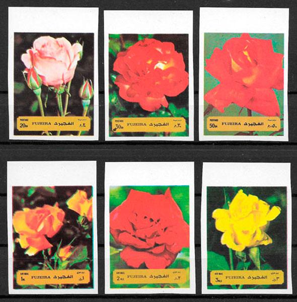 sellos rosas Fujeira