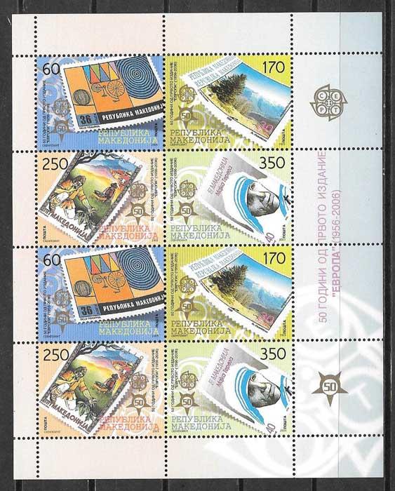 sellos Europa Macedonia 2005