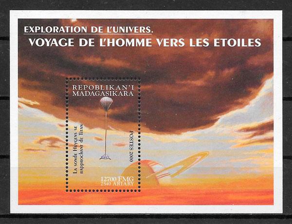 sellos espacio 2000 Madagascar