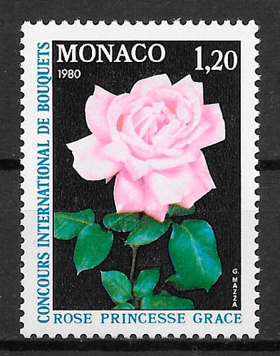 coleccion sellos Monaco 1979
