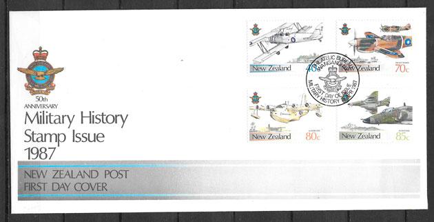 sellos transporte Nueva Zelanda 1987
