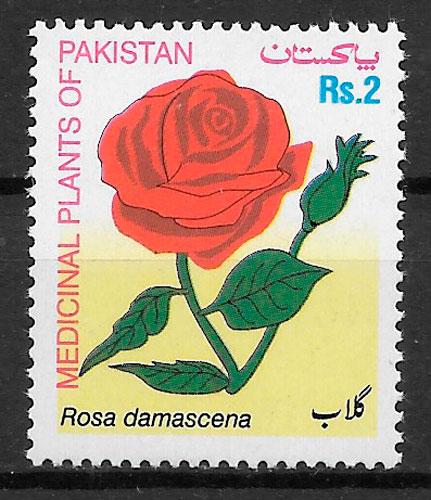 sellos rosas Pakistan 2003