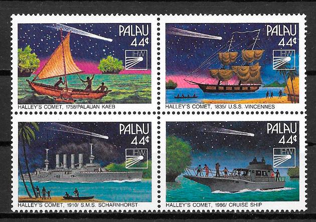 filatelia colección espacio Palau