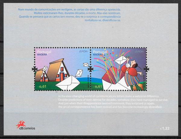 colección sellos Europa Madeira 2008