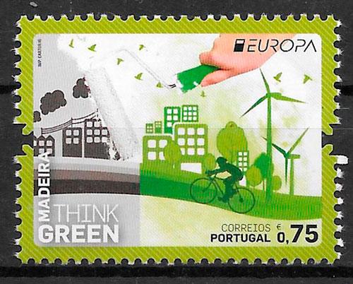 colección sellos Europa Madeira 2016