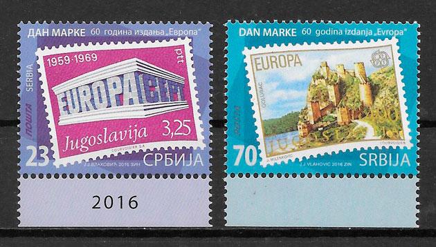 sellos Europa Serbia 2016